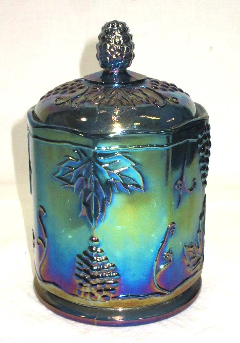 Carnival Glass Humidor