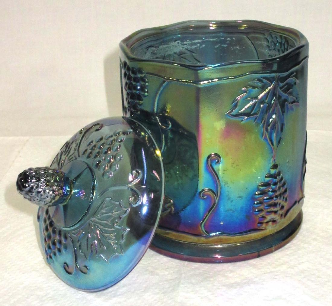 Carnival Glass Humidor - 2