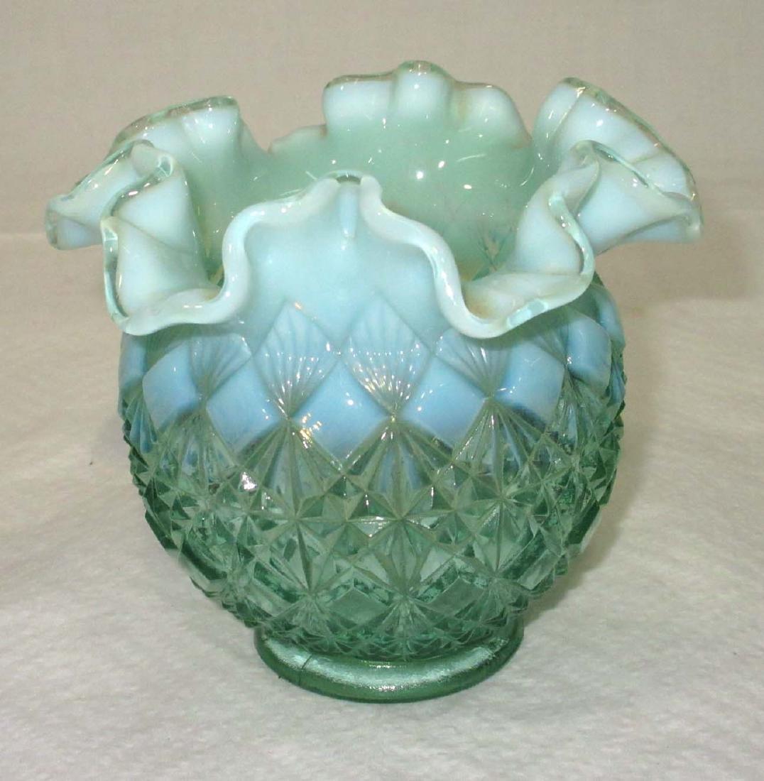 Fenton Opalescent Vase