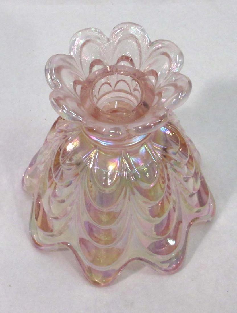 Fenton Iridescent Vase - 3
