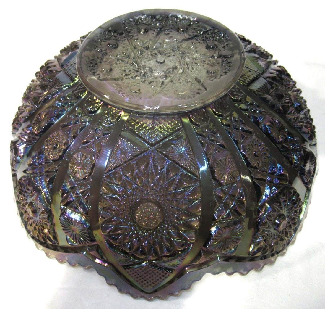 Imperial Carnival Glass Bowl - 3