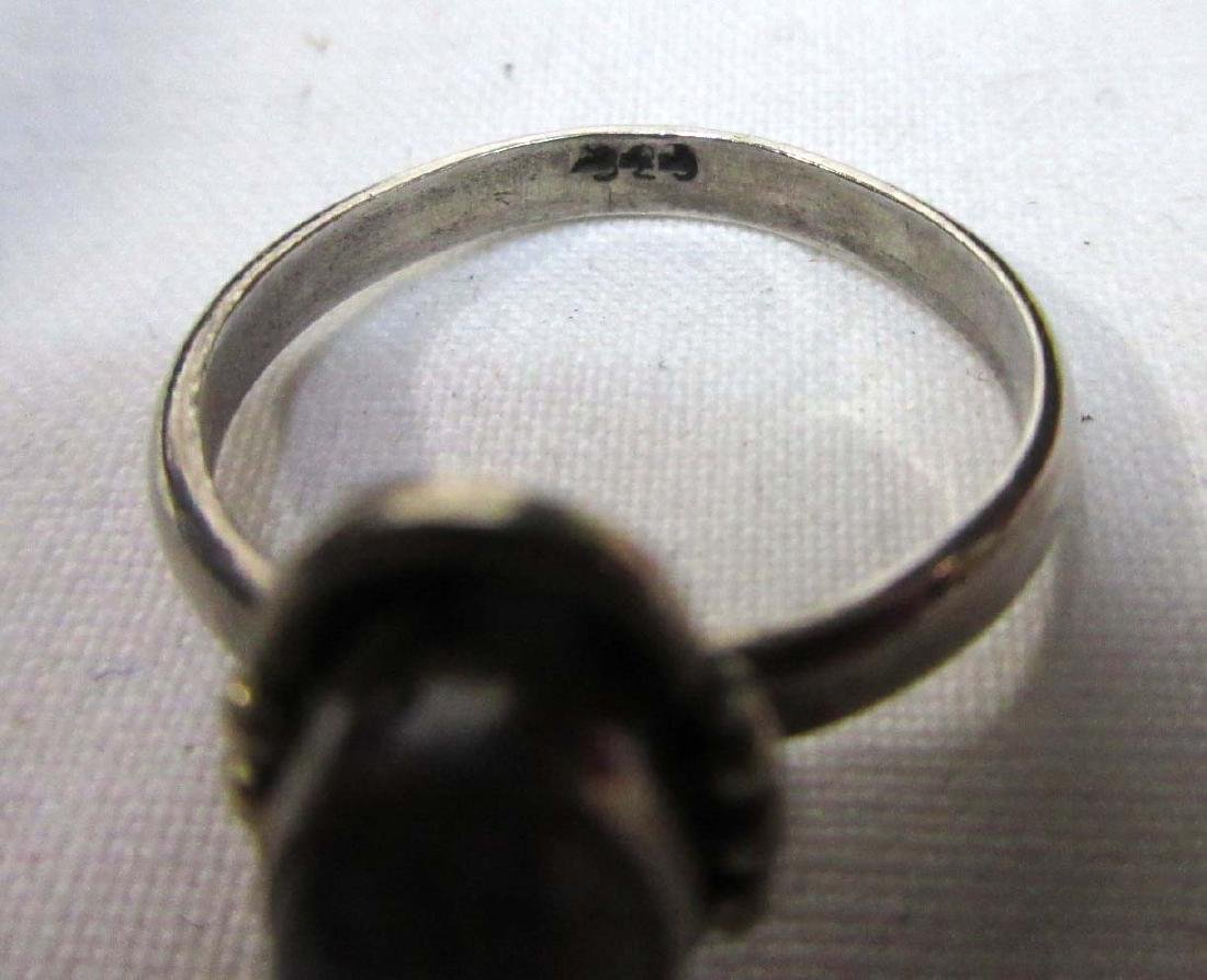 Lot of 18 Sterling Costume Rings - 7