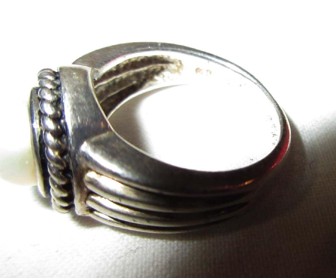 Lot of 18 Sterling Costume Rings - 6