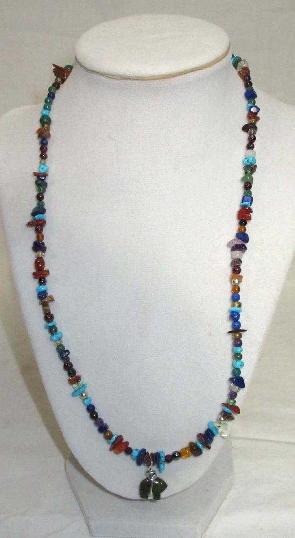 Sterling Mexican Multi Stone Jewelry - 3