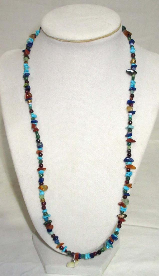 Sterling Mexican Multi Stone Jewelry - 4