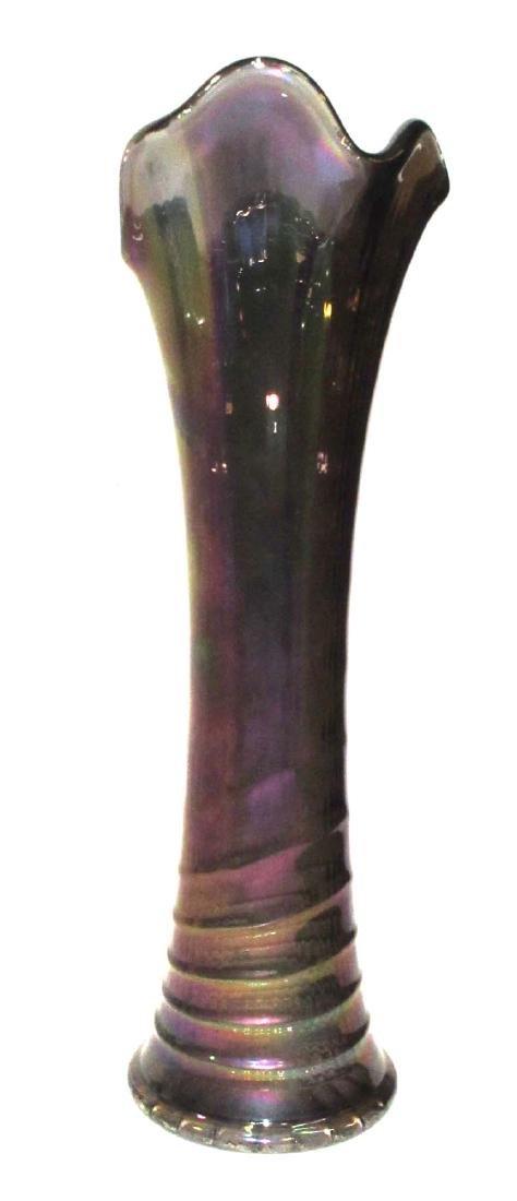 Carnival Glass Vase - 2