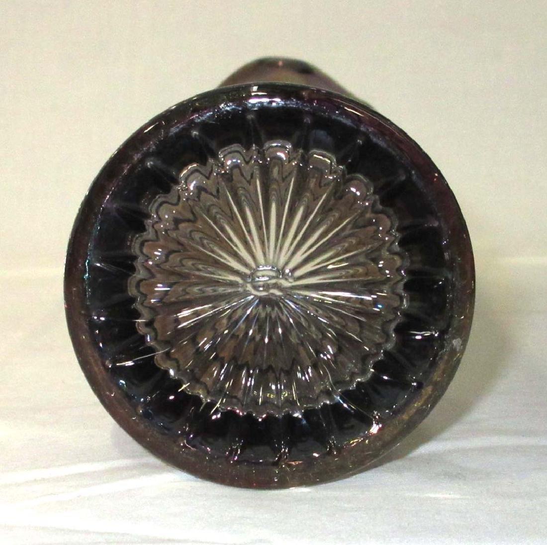 Carnival Glass Vase - 3