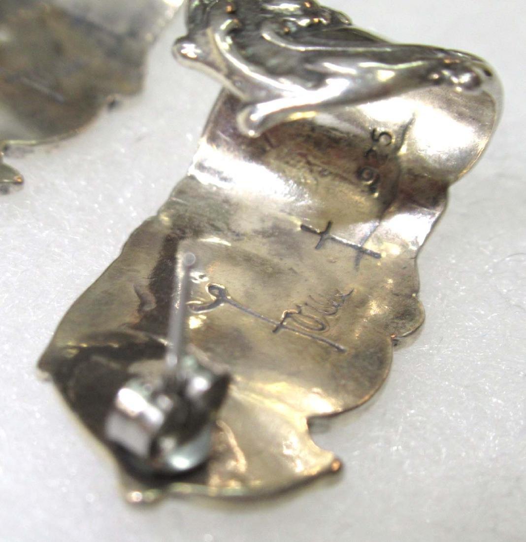 Pr. Sterling Foree Earrings - 3