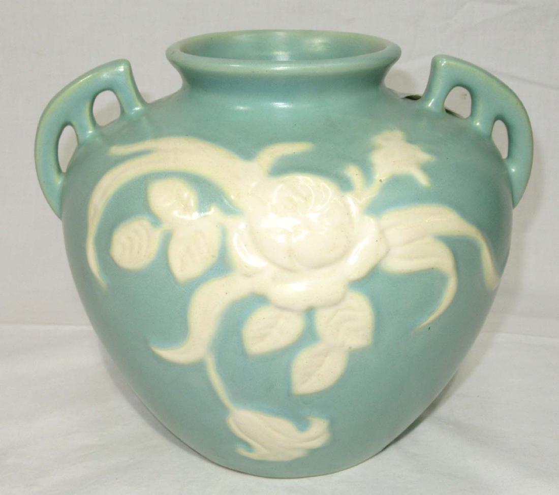 Weller Cameo Rose Pottery Vase