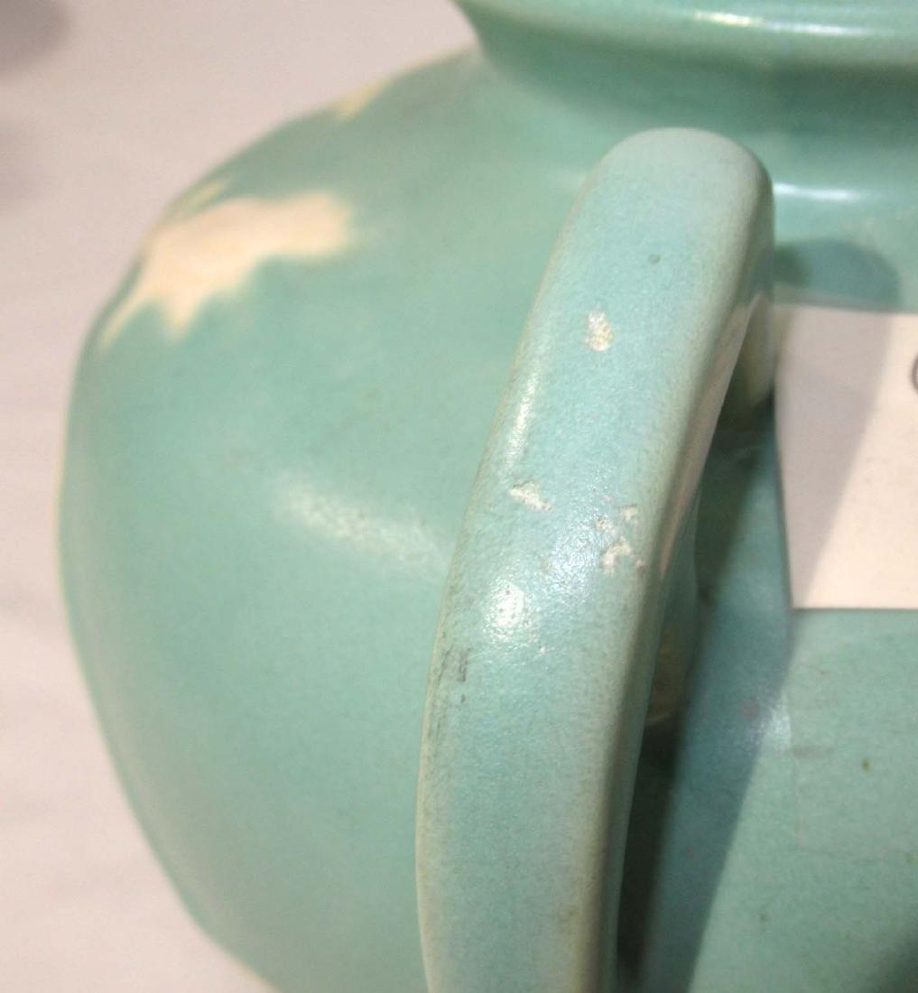 Weller Cameo Rose Pottery Vase - 3