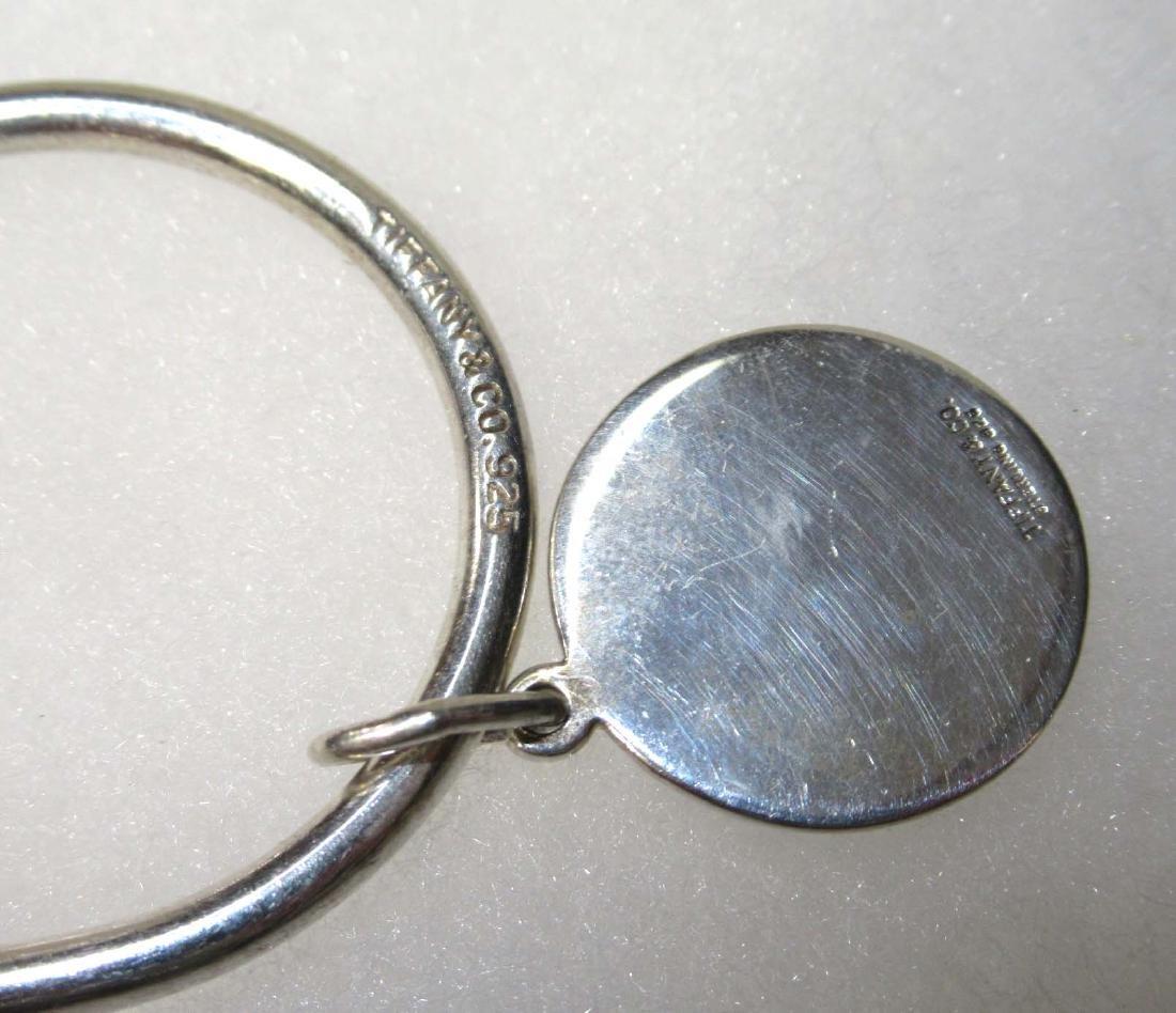 Tiffany & Co. Sterling Bull & Bear Key Ring - 3