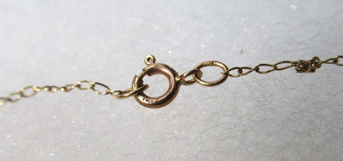 14K Opal & Diamond Necklace - 5