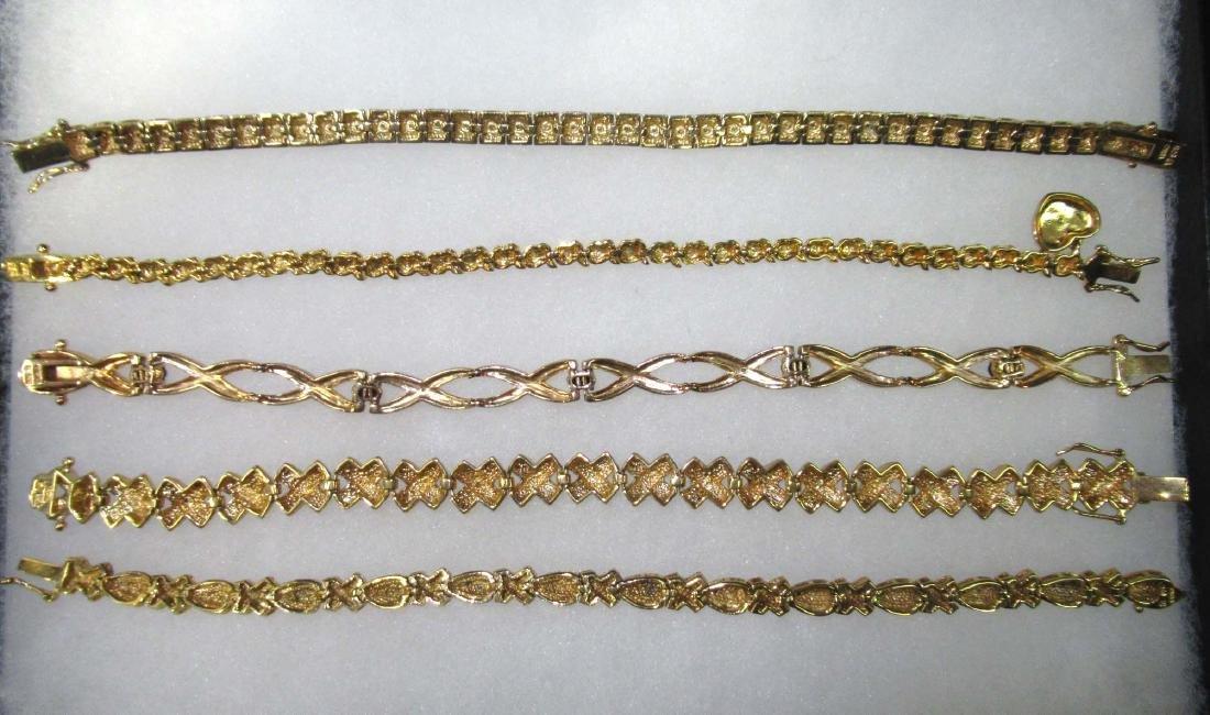 5 Sterling Bracelets - 3