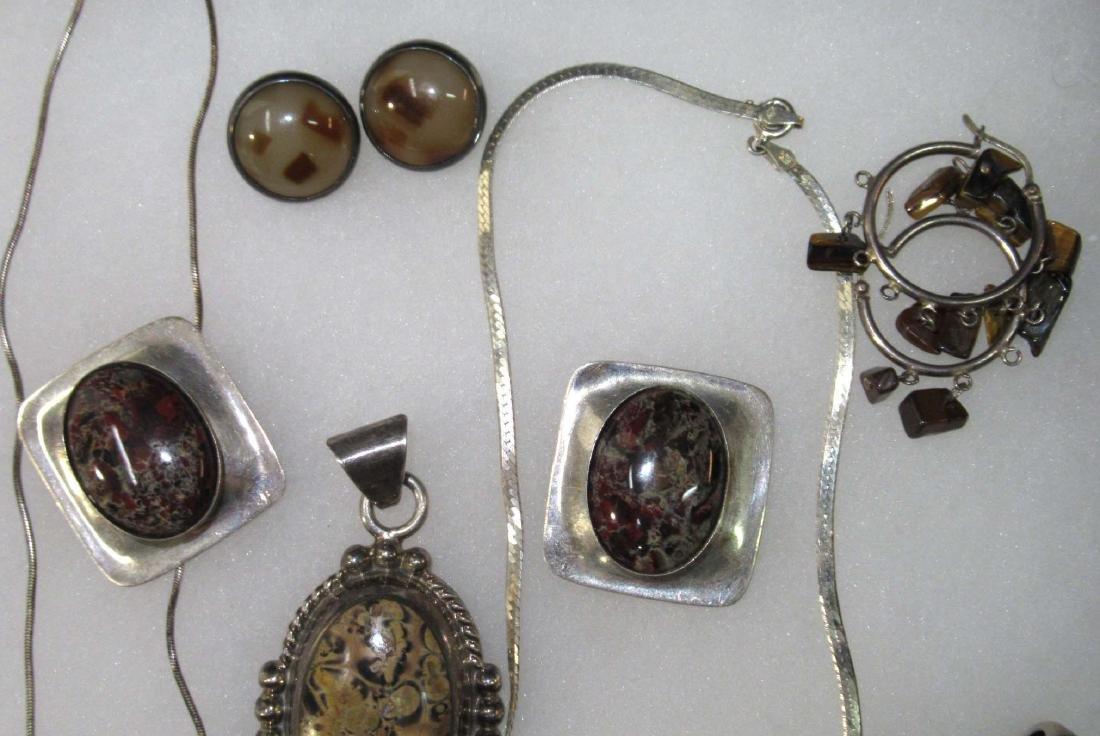 Goldstone, Lapis, Multi Stone Sterling Jewelry - 5