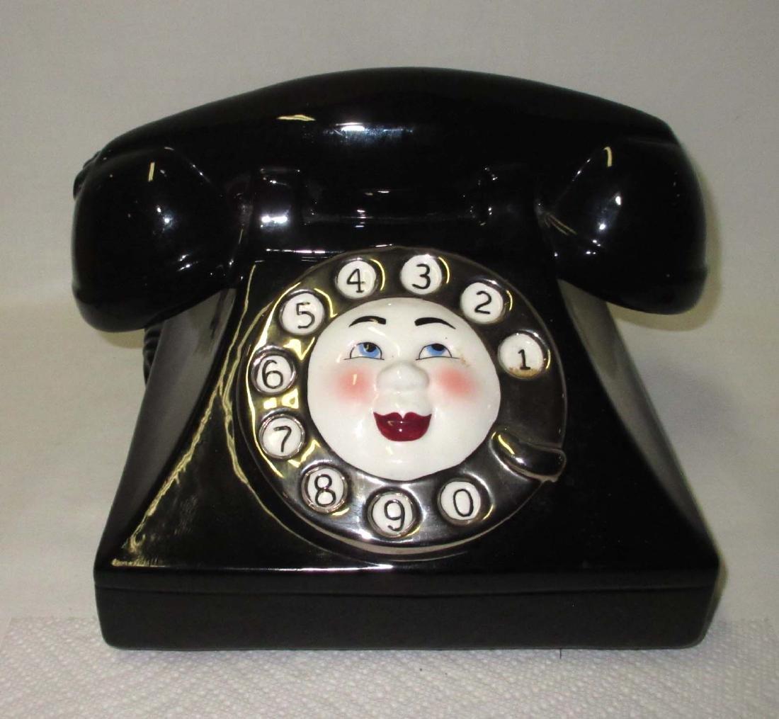 Telephone Cookie Jar