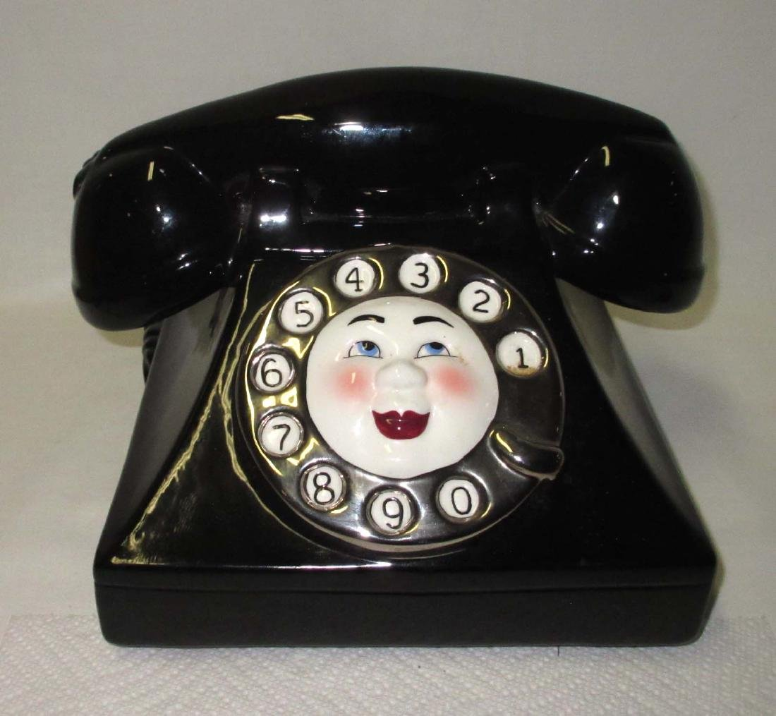 Telephone Cookie Jar