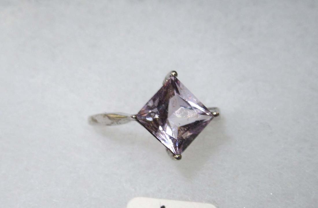 12pc Sterling & Amethyst Jewelry - 6