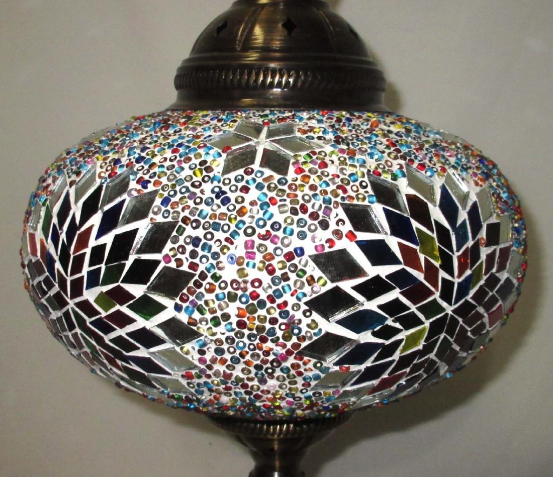 Table Lamp W/ Mosaic Shade - 2