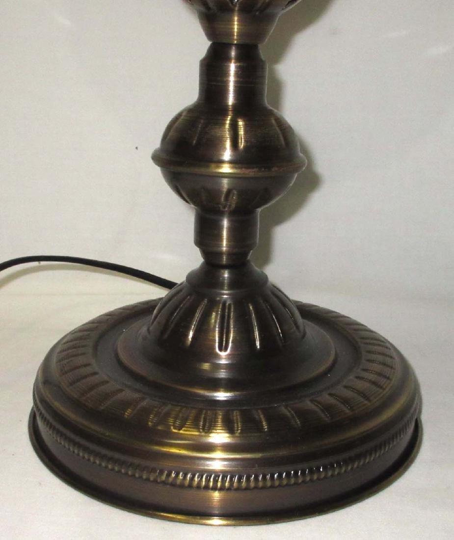 Table Lamp W/ Mosaic Shade - 3