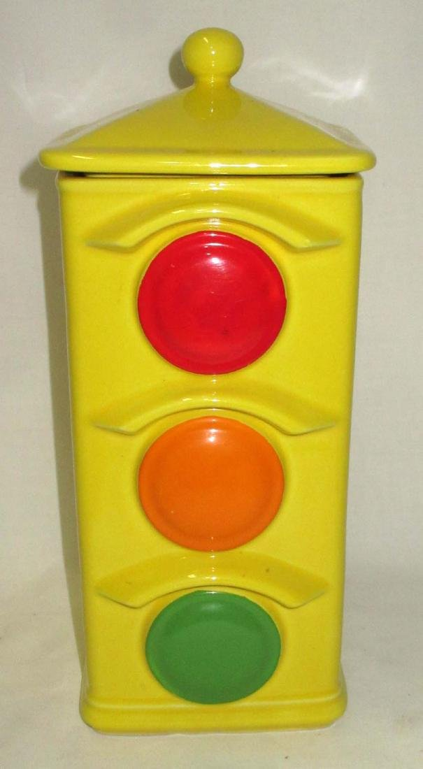 Stop Light Cookie Jar