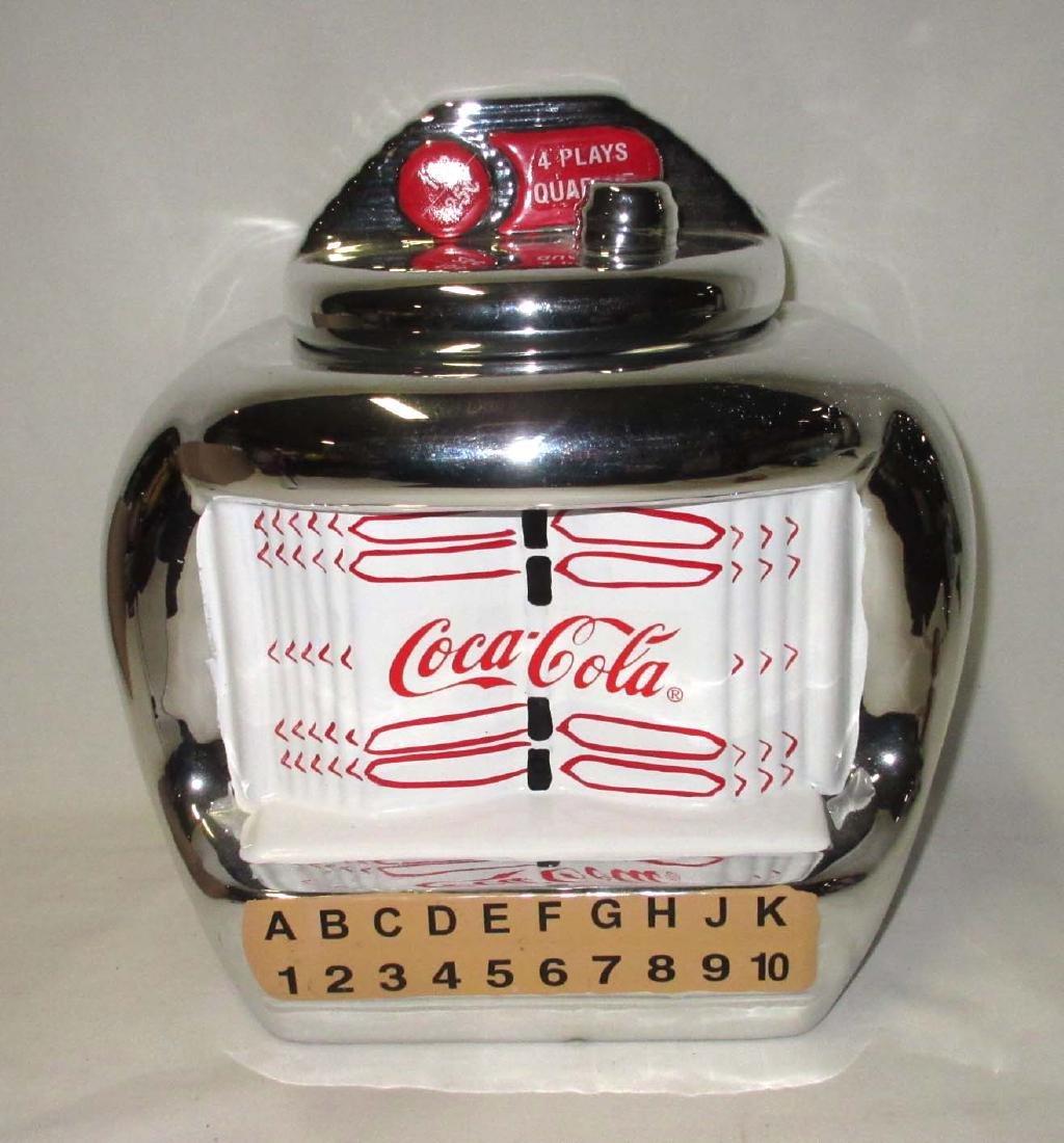 Coca Cola Jukebox Cookie Jar