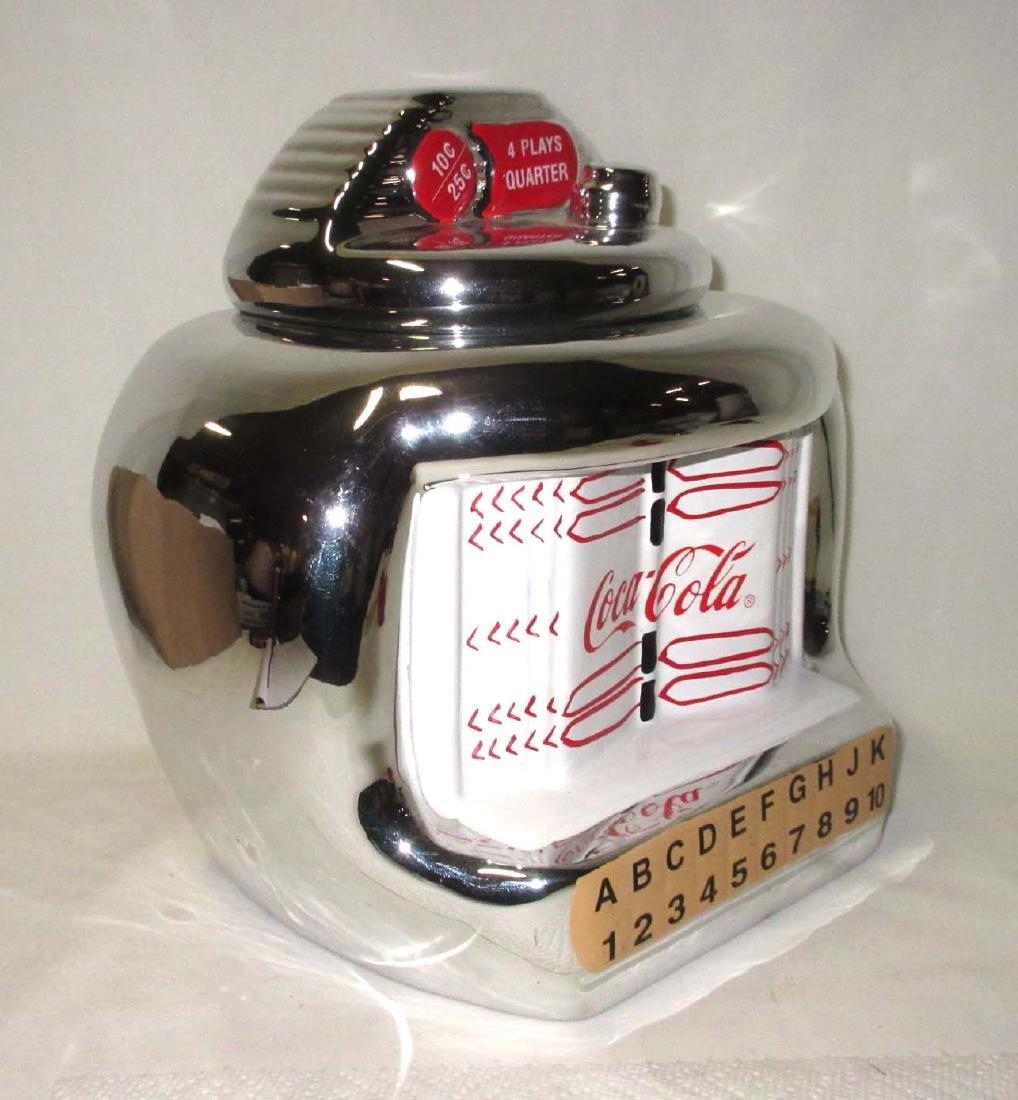 Coca Cola Jukebox Cookie Jar - 2