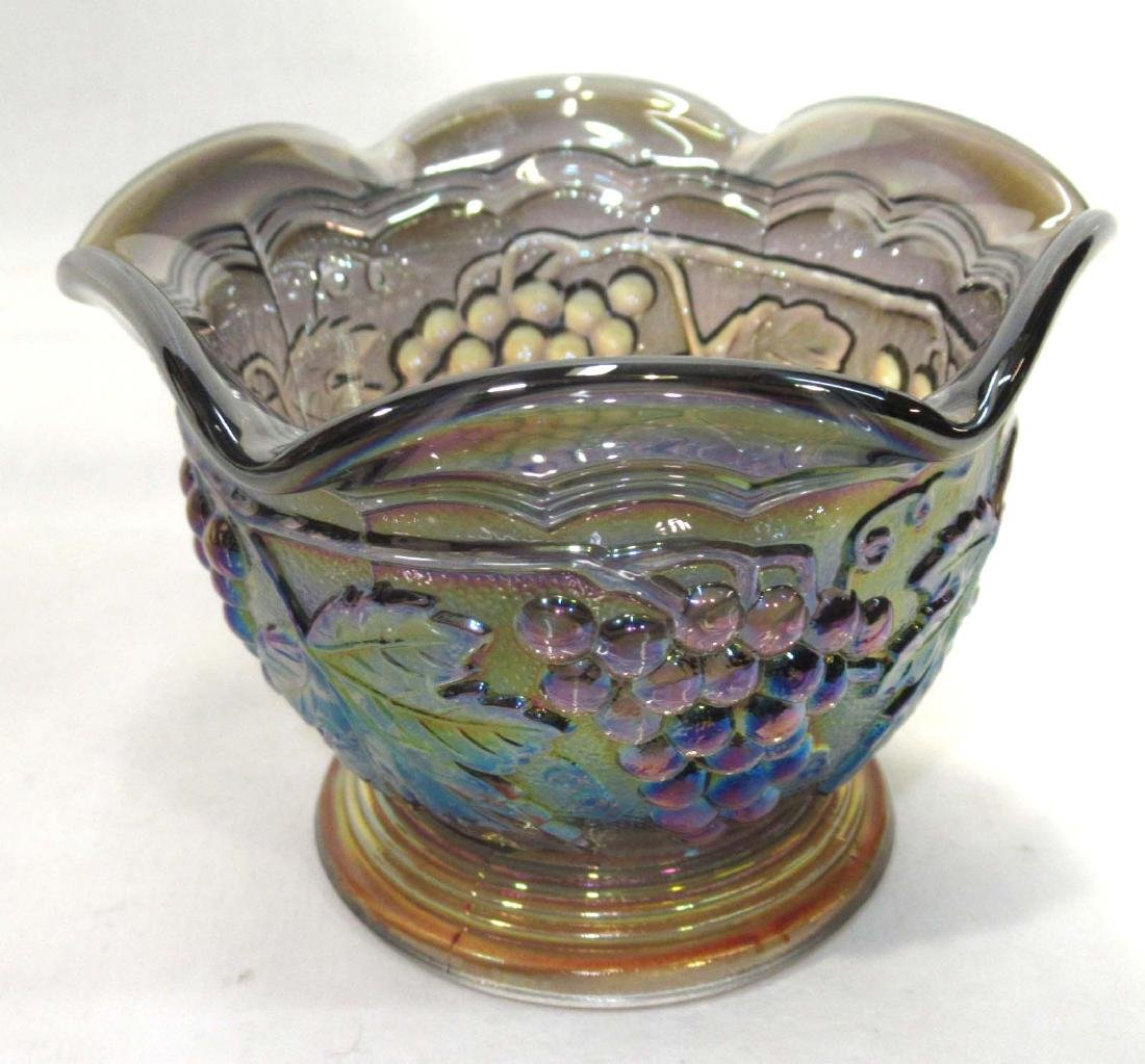 2pc Carnival Glass - 4
