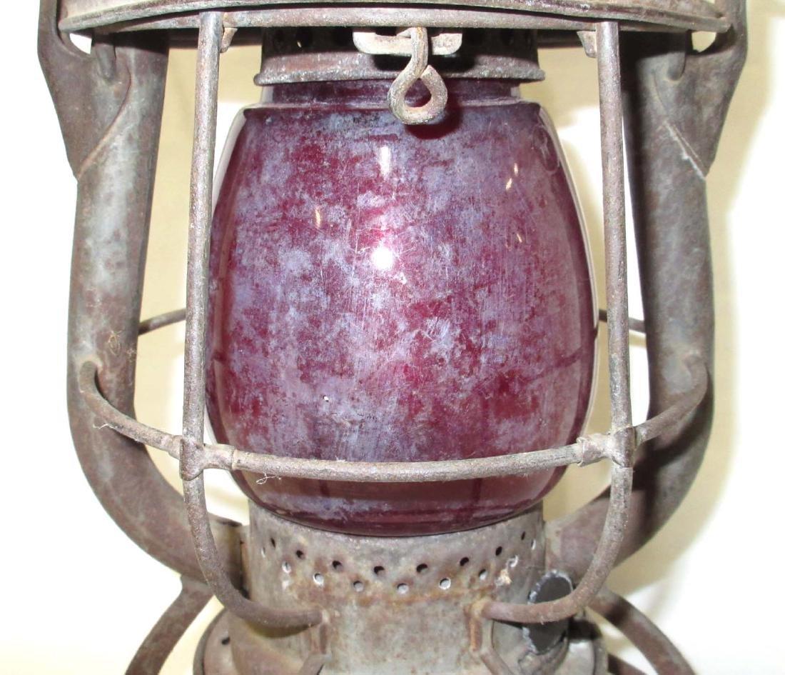 Dietz Vesta Red Globe RR Lantern - 2