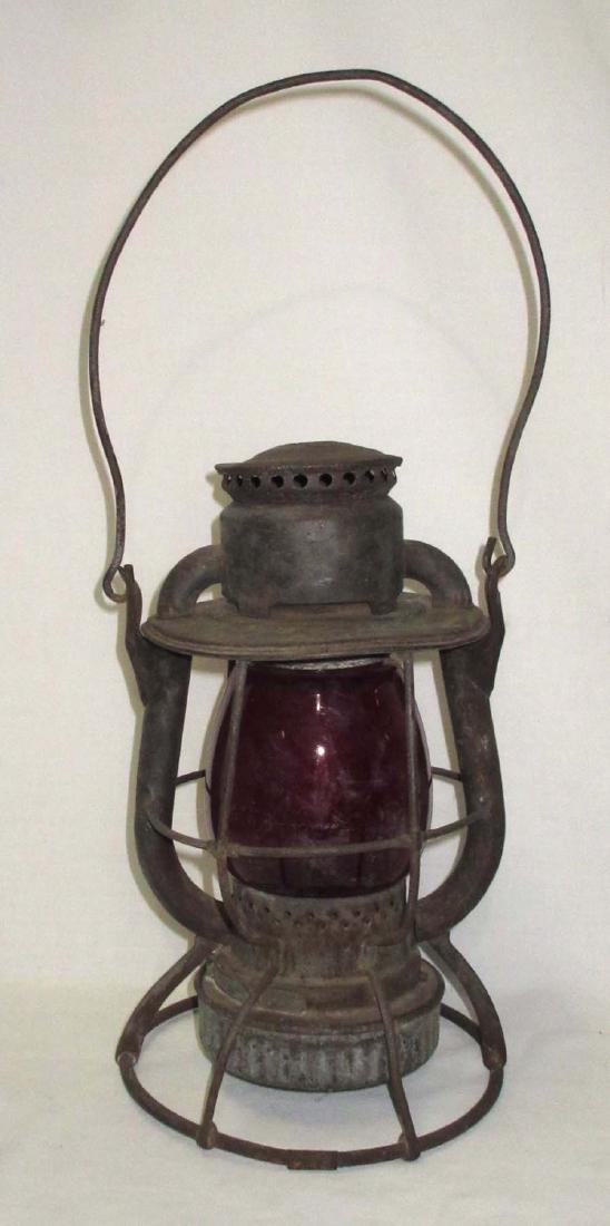 Dietz Vesta Red Globe RR Lantern - 3