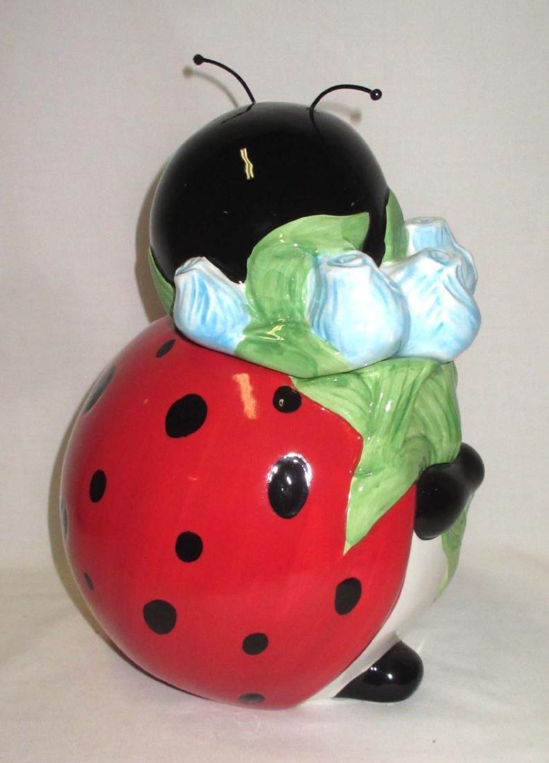Lady Bug Cookie Jar - 2