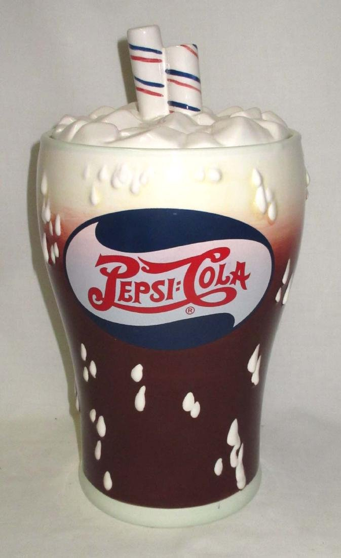 Pepsi Cola Cookie Jar