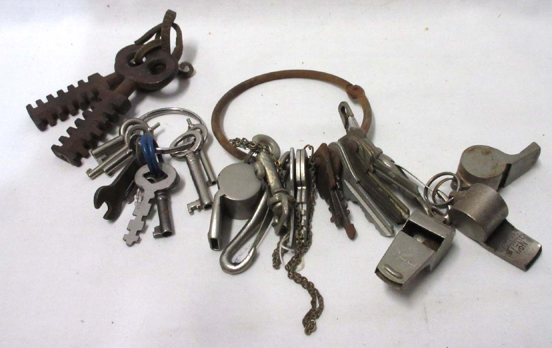 Lot of Keys and Whistles