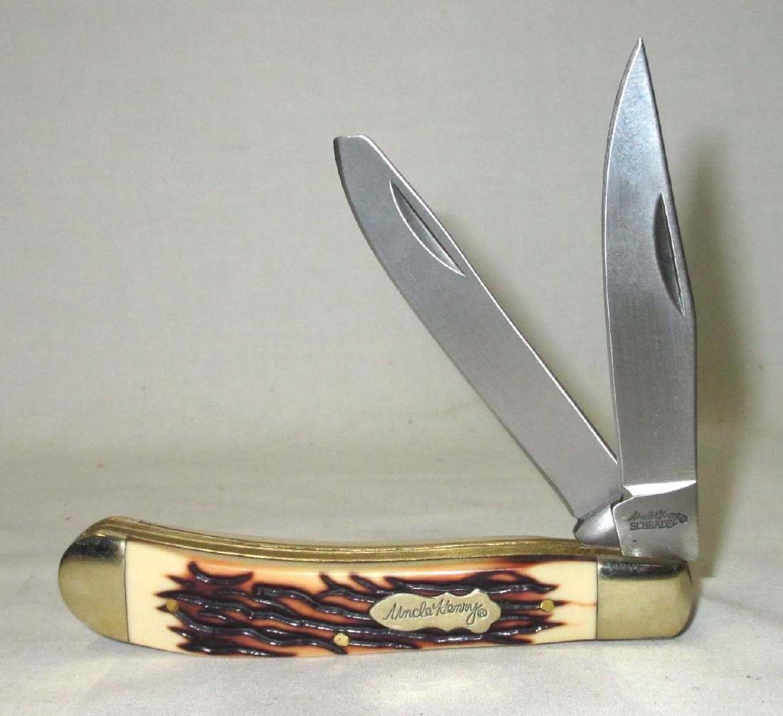 "4"" Schrade Uncle Henry Pocket Knife"