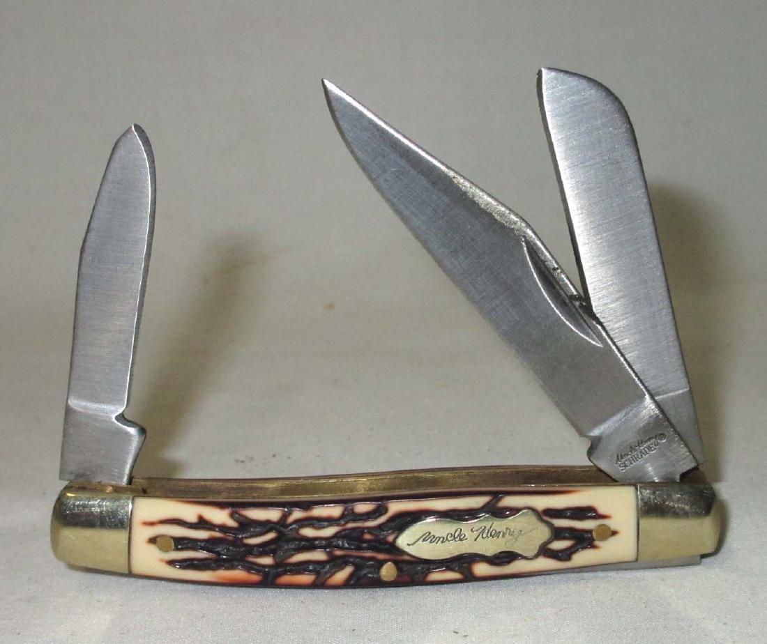 """3 1/4"""" Schrade Uncle Henry Pocket Knife"""