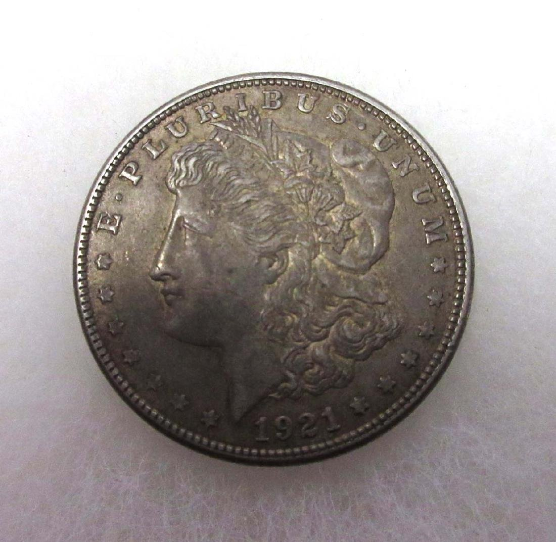 1921 D Silver Dollar