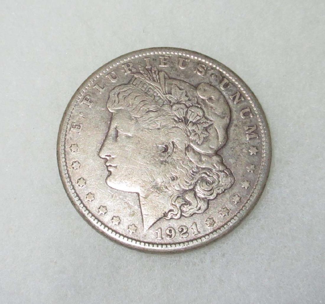 1921 S Silver Dollar