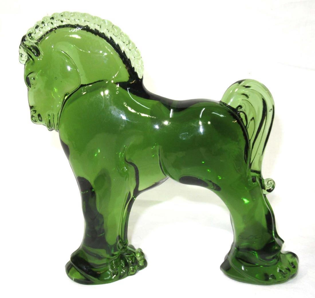 Green Glass Trojan Horse
