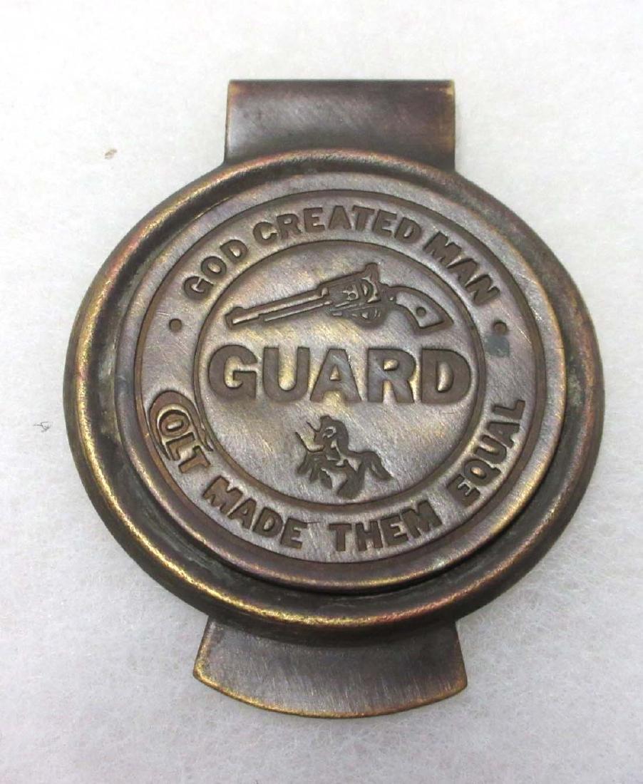 Modern Brass Guard Money Clip