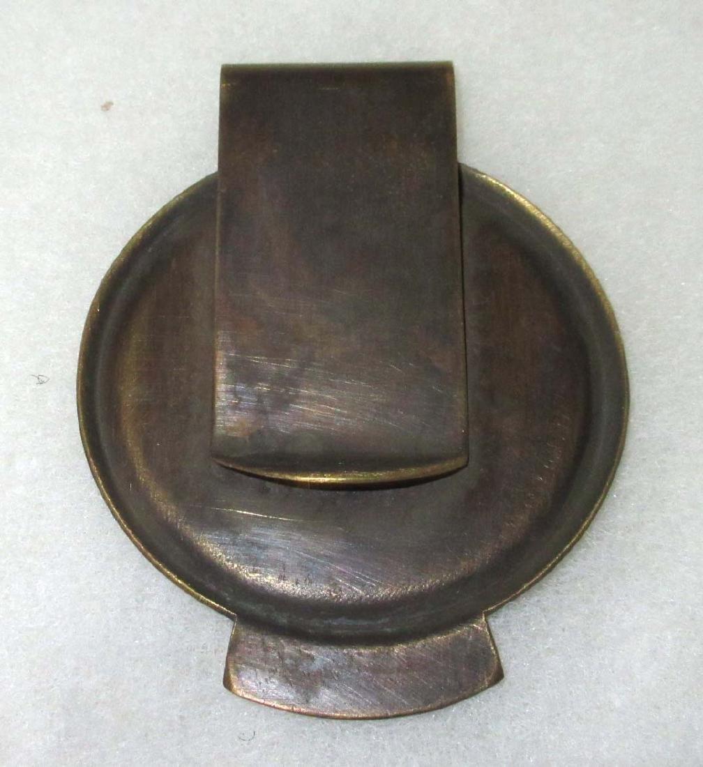 Modern Brass Guard Money Clip - 2
