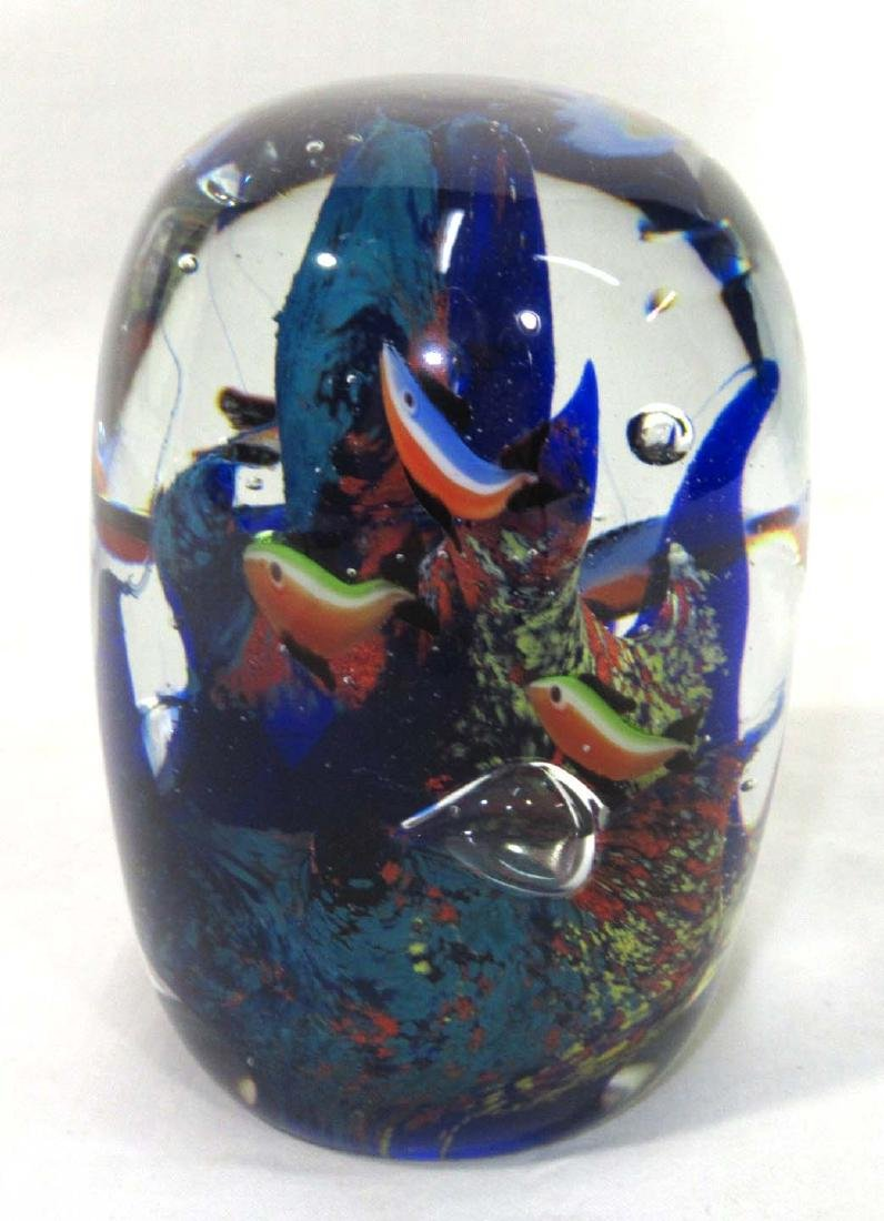 Coral Reef & Fish Paperweight