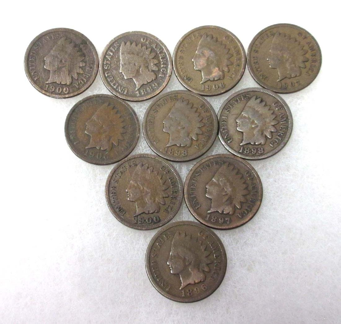 10 Indian Cents