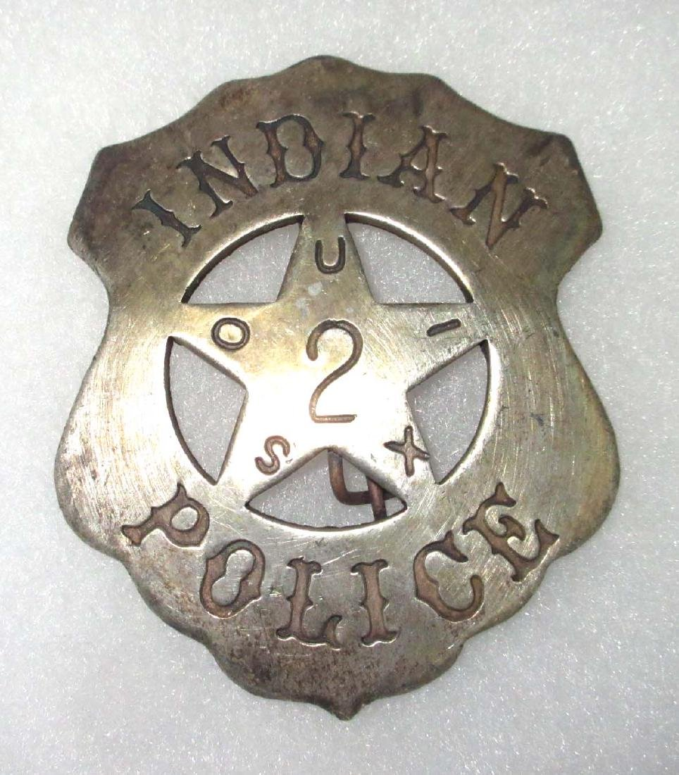 Modern Indian Police Badge