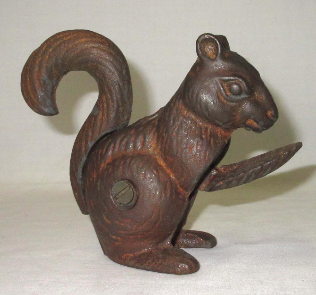 Cast Iron Squirrel Nut Cracker