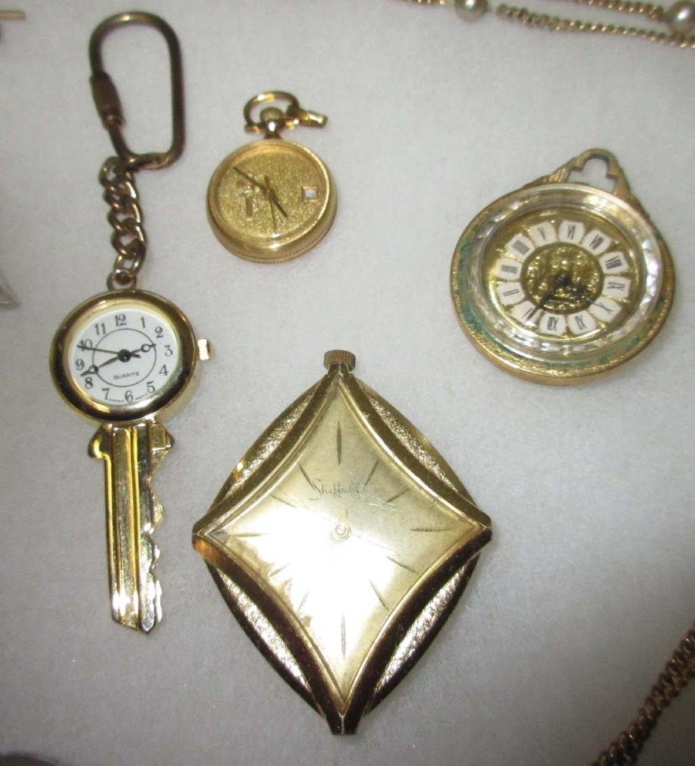 Lot Costume Jewelry Watches, Cuff links, etc.. - 2