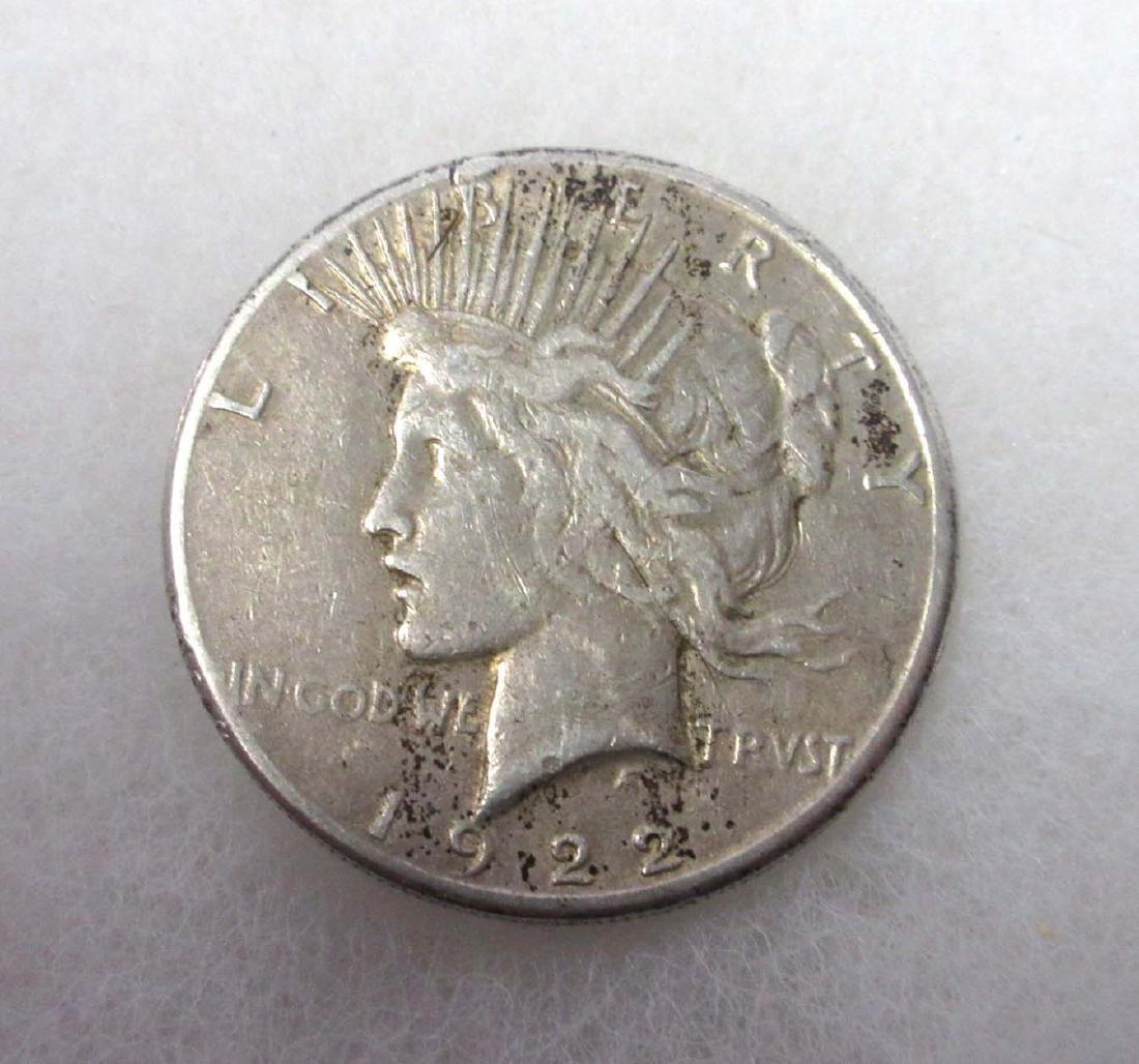 1922 US Silver Dollar