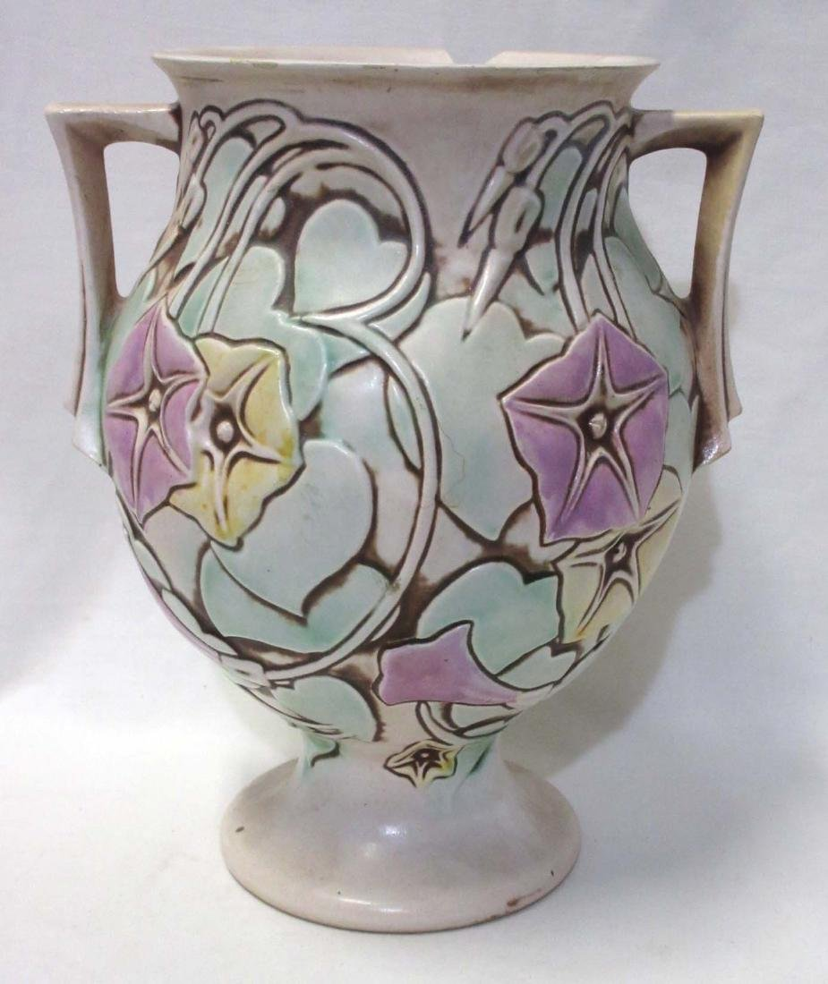 Roseville Pottery Vase Morning Glory