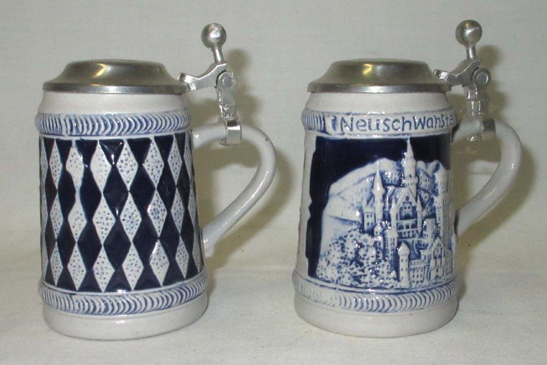 2 Miniature Beer Steins - 2