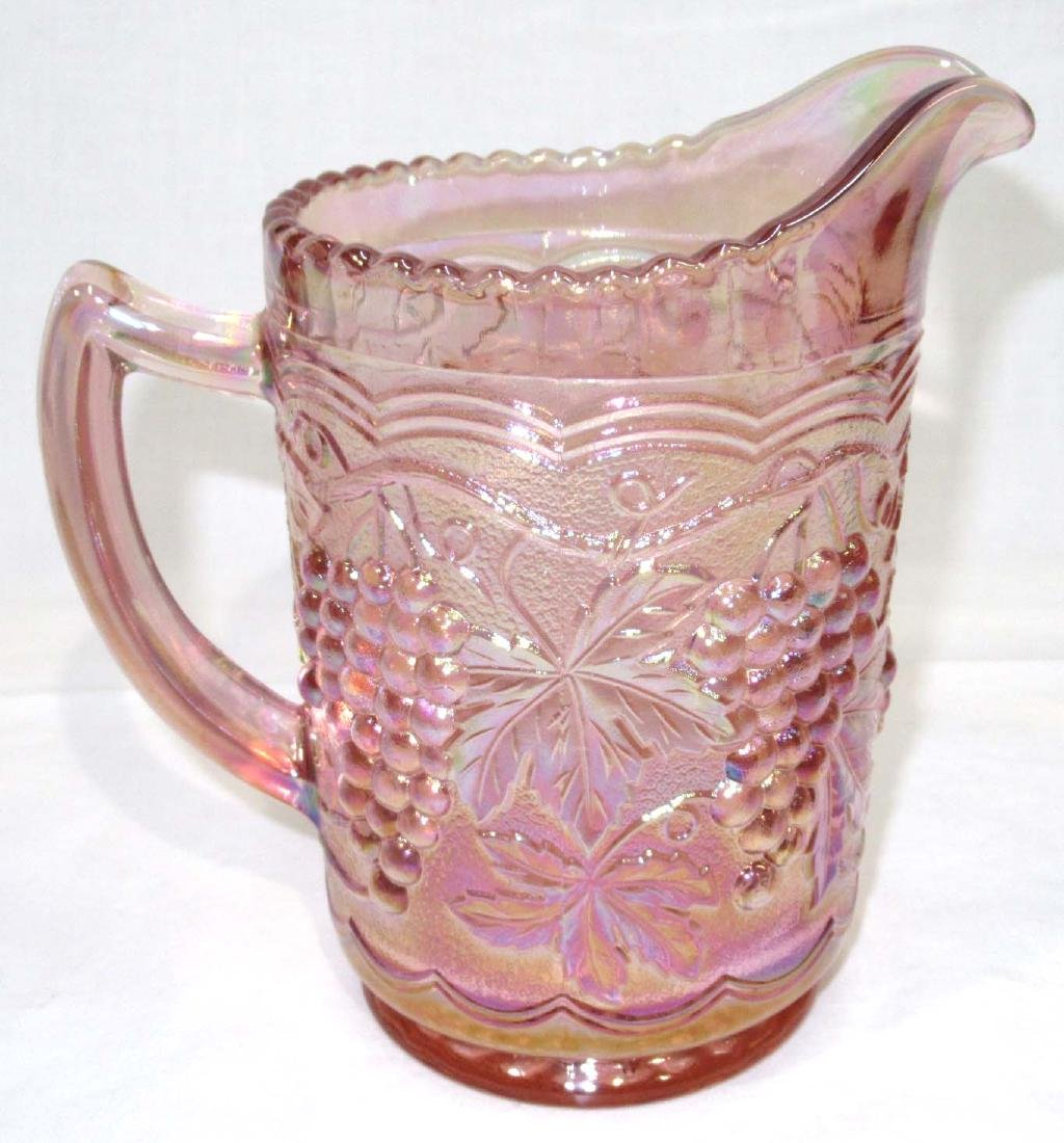 Pink Imperial Glass Pitcher
