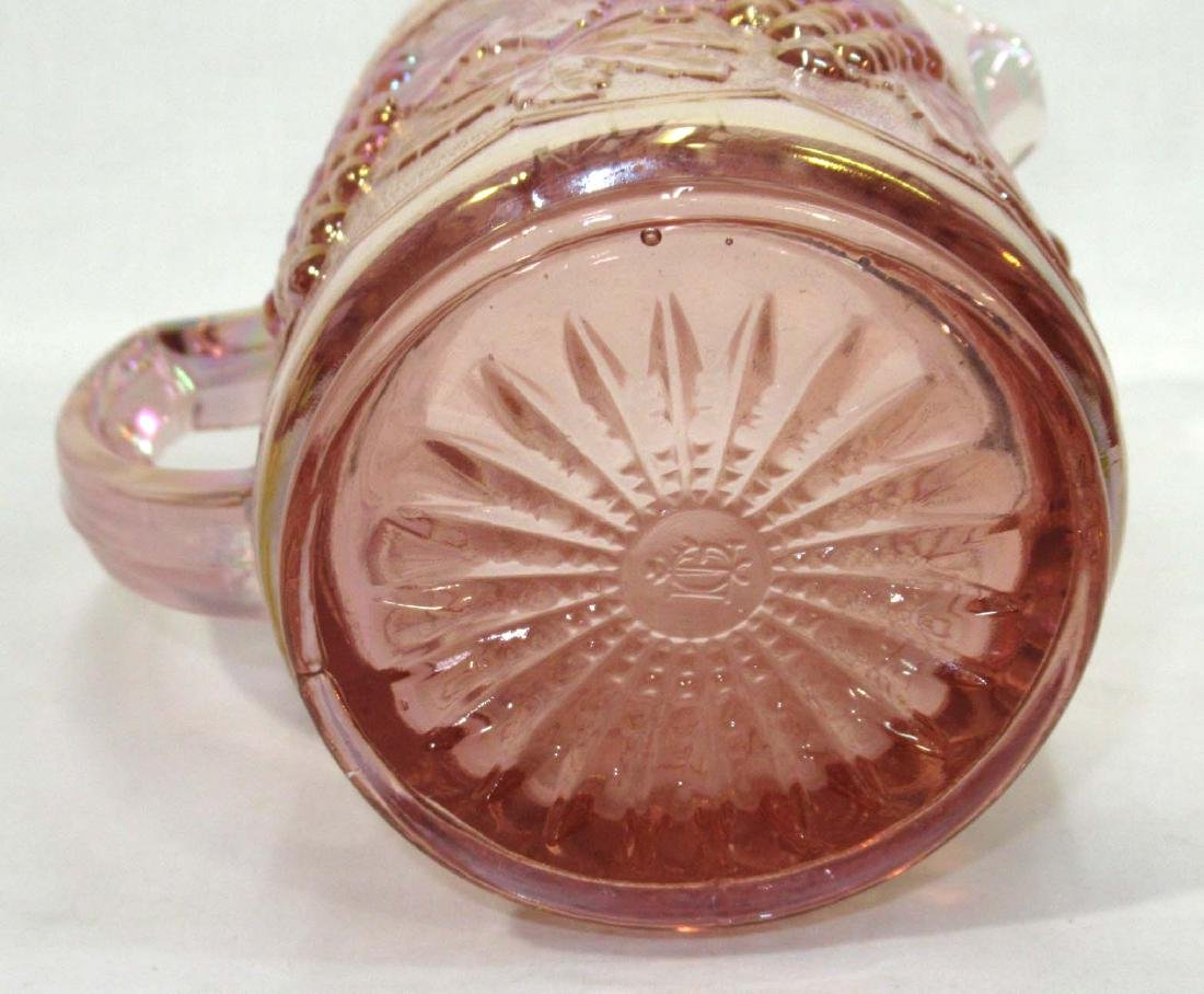 Pink Imperial Glass Pitcher - 2