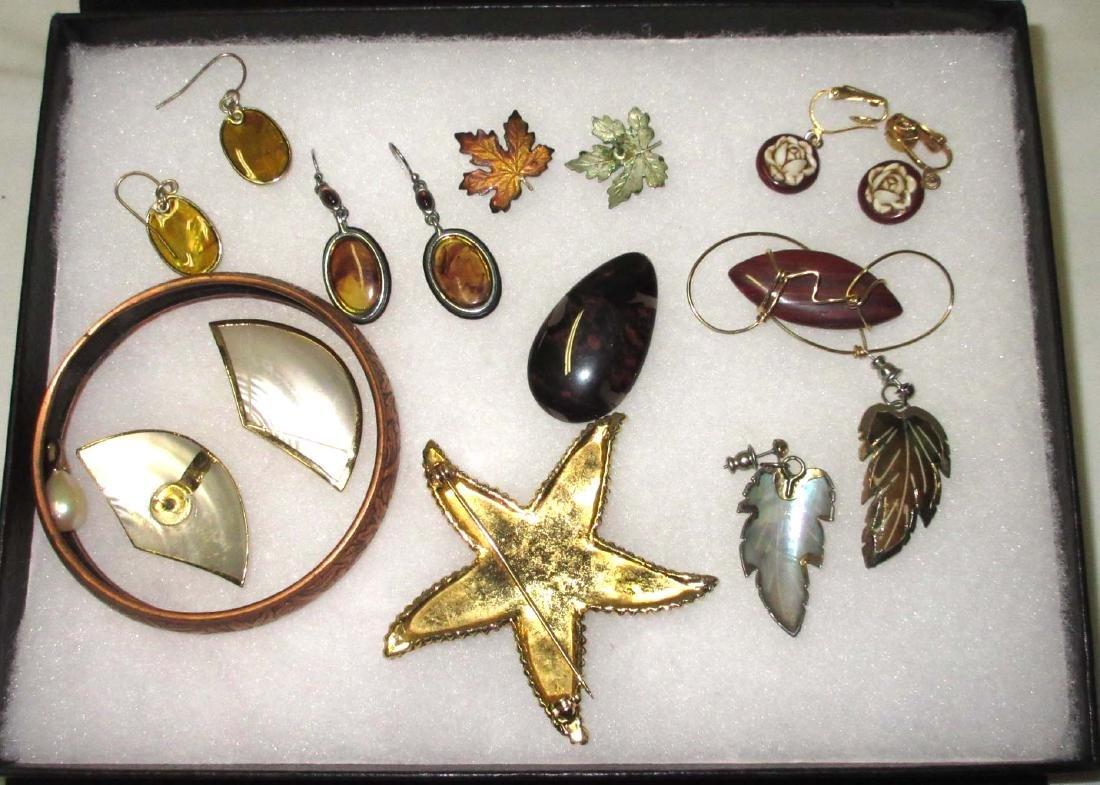 Fall Wood & Copper jewelry - 2